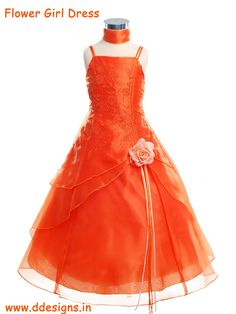 http://ddesigns.in/products/flower-girl-s-dresses.html  #Flower girl #dresses new #design for #ddesigns
