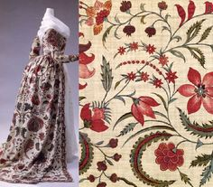 robe a l'anglaise 1780