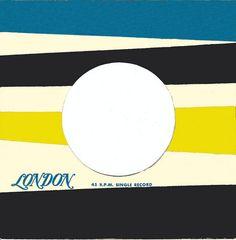 45 sleeve London Records.