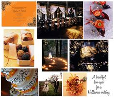 "Elegant halloween decor | ... to Create a ""Boo-tiful"", Yet Elegant Halloween Wedding » WedLoft"