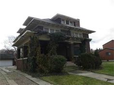 115 Chicago Blvd, Detroit, MI. With six bedrooms and three baths, the 3,000-square-foot brick colonial is spacious and with a large lot to match. The home has several fireplaces, as well as 60 windows -- but they, along with doors and roof, need replacing. The home needs other extensive repairs to the bathrooms, kitchen, electrical, plumbing and more. 05.13.2014