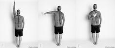 Egyperces jógagyakorlat befagyott váll, merev váll ellen 2. #funkcionalisjoga Stretching, Stretching Exercises, Sprain