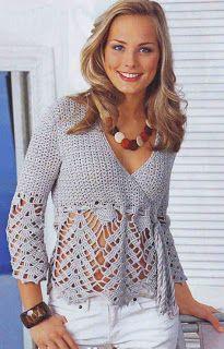 Tina's handicraft : crochet clothing