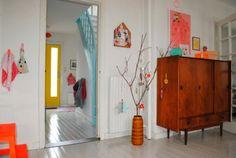 Scandinavian / design / interiors / color / retro / modern
