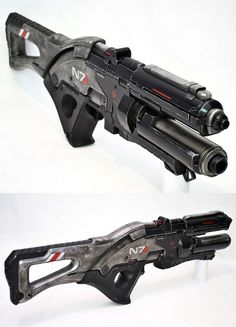 'Mass Effect 3' Assault Rifle Replica