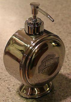 HARLEY DAVIDSON SOAP U0026 LOTION DISPENSER