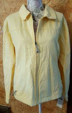 COLUMBIA ROC JACKET Women's XL Lemon Whip Yellow Spring Jacket NWT WL3012-712 #Columbia #BasicJacket