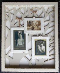 Decorative Arts Audacious Pair Of Lovely Framed Shadowbox Framed Classical Prints Antiques