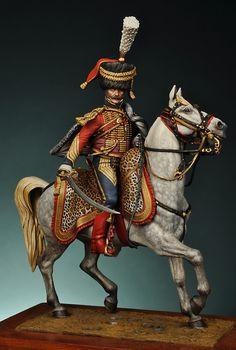 Colonnello del 6 rgt. ussari francese