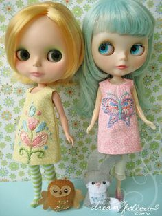 These Blythes are as wise as Owls