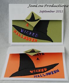 Have a Wicked Halloween Card by JemLouProductions on Etsy, $3.00