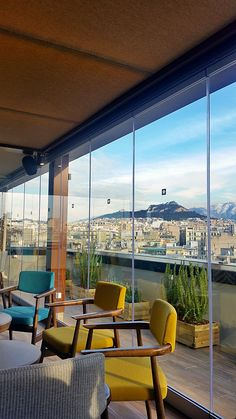 """A recently renovated beautiful hotel downtown Athens that I had the chance to visit a few days ago and won me over! The public areas were comfortable, spacious and beautiful, the restaurants great, the """"Above"""" Roof Top Bar Restaurant fantastic with its direct view of the Acropolis! The rooms were nicely furnished and comfortable, fully equipped with large and comfortable bed and a very efficient bathroom! In the plus of this hotel is the friendly, smiling and efficient staff!"""
