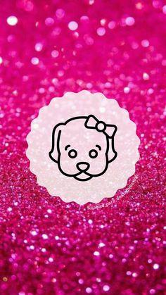 """Capas para destaques do instagram tema """" Glitter Rosa """"( para mais complementação segue o insta @capas_para_destaques_liih) Instagram Design, Instagram Blog, Instagram Story, One Word Quotes, Glitter Background, Instagram Highlight Icons, Barbie, Glitter Rosa, Pets"""
