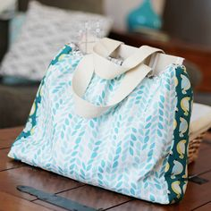 sew: Backyard Garden Bag || Cloud9 Fabrics
