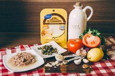 Лёгкий салат с сыром, тунцом и миндальными лепестками - пошаговый рецепт приготовления салата с фото Dairy, Cheese, Table Decorations, Food, Home Decor, Decoration Home, Room Decor, Eten, Meals