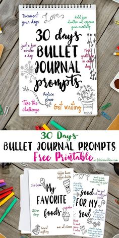 30 Days Bullet Journ