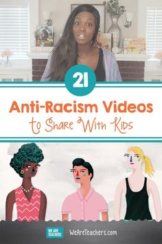 21 Anti-Racism Videos To Share With Kids | WeAreTeachers School Counselor, School Teacher, Primary School, Elementary Schools, Teaching Kids, Kids Learning, Higher Learning, Learning Spaces, Social Justice Topics