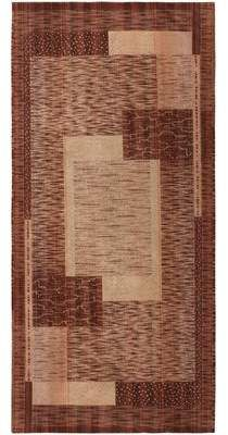 Nazmiyal Collection French Vintage Art Deco Walnut Brown Cream Area Rug Nazmiyal Collection Art Deco Rugs Deco Purple Area Rugs