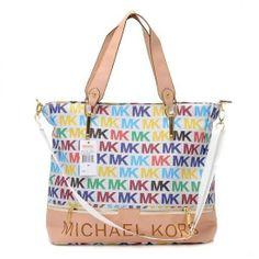 2013 Michael Kors Classic Tote Monogrammed 31507