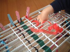 weaving the ribbons by jojoebi, via Flickr