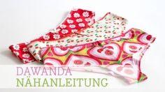Schnittmuster Unterwäsche-Set für Mädchen von pattydoo