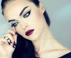 K I T T Y  C A T  Kryolan - HD Eyeliner Black  Make up Geek - Creme Brulee  Esqido - lashes desire Lips Kryolan - lipliner 914  Rimmel - cutting Edge  Wet'n'Wild - Red velvet  #kryolan #vegasnay  #beauty #look #hudabeauty #lovemakeup #stunning #lovely  #макияж #стилист #визаж #косметика  #wakeupandmakeup #красота #inssta_makeup #universodamaquiagem_oficial #vegas_nay #lips #eyeliner #anastasiabeverlyhills #rimmellondon #esqido #wetnwild  #makeupgeek