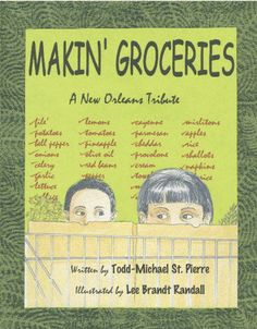 Makin' Groceries is the story of little Nicky, who during summer vacation, helps his Maw-Maw Lillian at her Cajun & Creole Café. It follows them around New Orleans, as they shop for groceries at places, like: The French Market & Schwegmann's GIANT Supermarket. Make Groceries is an old South Louisiana expression that the region's residents use for food shopping. http://amzn.com/141968325X