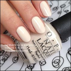 OPI Be There in a Prosecco – OPI Venice Collection 2015. There's a buttload of OPI Venice 2015 swatches at imabeautygeek.com
