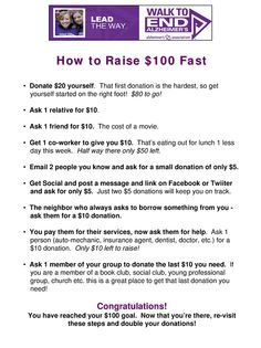 Having trouble raising money for the Walk To End Alzheimer's? Here are some tips to help you raise money Fundraising Activities, Fundraisers, Longest Day Alzheimers, Alz Walk, Walk To End Alzheimer's, Alzheimers Activities, Alzheimer's Association, Alzheimers Awareness, Relay For Life
