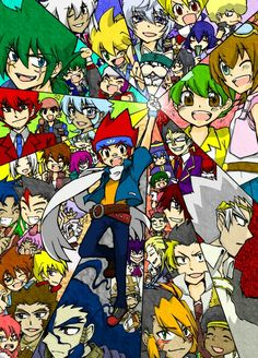 All personnages beyblade