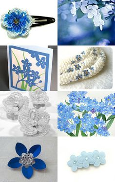 Spring Flowers by CAROL QUINN on Etsy--Pinned with TreasuryPin.com
