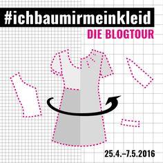 Zwei Wochen lautete das Motto auf den unterschiedlichsten Blogs: #ichbaumirmeinkleid – alles drehte sich um Kleider-Schnitte, die als Mod...
