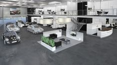 Porsche showroom by The Store Designers® car showroom