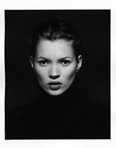 Kate Moss en noir et blanc sous l'objectif des plus grands photographes - Marc Hispard