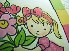 Joyful Creations with Kim: Friday Focus: Coloring with Copics