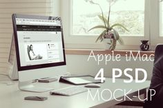 Check out Desktop mock-up by Marian Kadlec on Creative Market