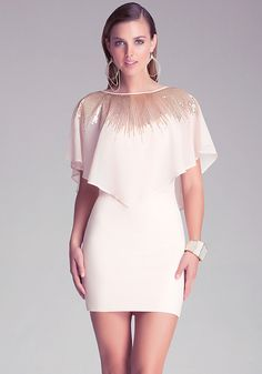 Sequined Overlay Dress - All New Arrivals | bebe--CHRISTMAS PARTY DRESS!!!