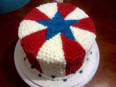 - of July cake. - of July cake. Fourth Of July Cakes, Fourth Of July Food, 4th Of July Celebration, 4th Of July Party, Celebration Cakes, July 4th, Patriotic Desserts, 4th Of July Desserts, Patriotic Party