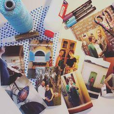 Primeira atividade das férias está para comecar: reuni materiais e revelei as primeiras fotos para montar um álbum de gravidez!  Achei uma ótima pedida para acompanhar um Netflix nessa segunda chuvosa. #descansama #feriasemcasa #albumdegravidez #fotos #momblogger #craftdocola #vidadegravida