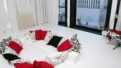 Sunken bed design-Carisa Perez-Fuentes