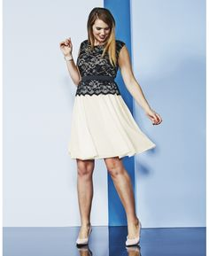 Lace & Mesh Dress at Simply Be $100