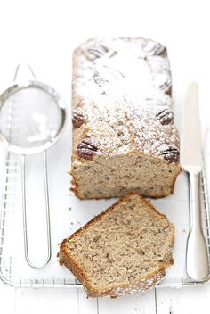 Pecan Banana bread - I've been waiting for this all my life... (recipe in Italian)