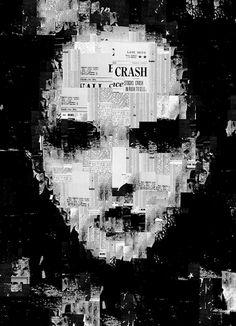Generative Collage Portraits by Sergio Albiac The. Collage Kunst, Art Du Collage, L'art Du Portrait, Collage Portrait, Tachisme, Glitch Art, Art Génératif, Generative Kunst, Computer Kunst