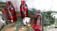 Last-Minute-Weihnachtsgeschenk: selbstgemachter Himbeer-Essig