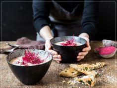 Chocolate Fondue, Acai Bowl, Breakfast, Desserts, Soups, Recipe, Kitchen Workshop, Vegetable Stock, Food