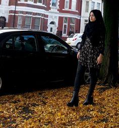 Hijabesta, hijab, scarf, autumn outfit ideas, muslim fashion | Casually somewhere blog by be_es_ | benish es