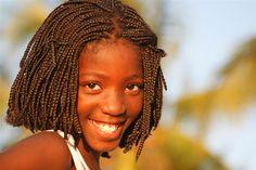 African girl - Beautiful Smile, Moçambique. Tandblekning http://www.alexiskliniken.se/