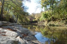 Natural/Country | Breckinridge Park in Richardson, TX | free-no location fee | gorgeous park-awesome rocks overlooking creek, great bridge