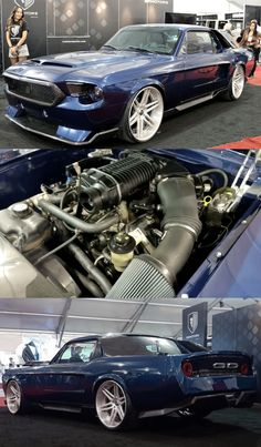 Hydra Mustang – Radical 1967 Coupe Build at SEMA Don't know about the back end. Ford Mustang Shelby, Mustang Cars, 1967 Mustang, Custom Muscle Cars, Custom Cars, Car Ford, Ford Trucks, Fox Body Mustang, Tuner Cars