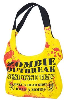 Darkside Clothing - Zombie Response Shoulder Bag  So, Kaci, would you carry something like this?